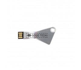 Triangle Metal Key USB Flash Drive