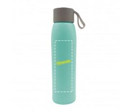 Slim Bamboo Fiber + Glass Bottle