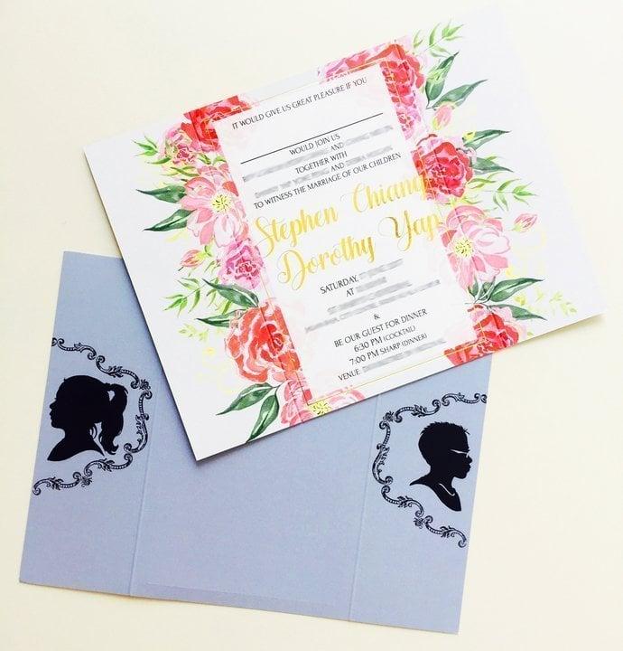 wedding card printing malaysiprice%0A Size   x   cm