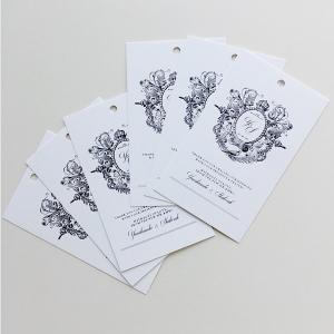 Size 9 x 54 cm Print Tags