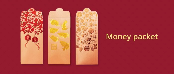 Money Packets for Chinese New Year Celebration